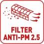 Filter anti-2.5pm